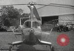 Image of autogyro rotorcraft Willow Grove Pennsylvania USA, 1940, second 13 stock footage video 65675061123