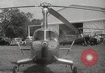 Image of autogyro rotorcraft Willow Grove Pennsylvania USA, 1940, second 14 stock footage video 65675061123