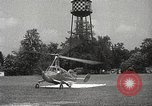 Image of autogyro rotorcraft Willow Grove Pennsylvania USA, 1940, second 35 stock footage video 65675061123
