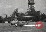 Image of autogyro rotorcraft Willow Grove Pennsylvania USA, 1940, second 37 stock footage video 65675061123