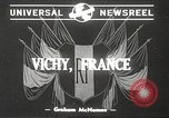 Image of French Marshal Philippe Petain Vichy France, 1940, second 3 stock footage video 65675061124