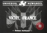 Image of French Marshal Philippe Petain Vichy France, 1940, second 4 stock footage video 65675061124