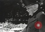 Image of French Marshal Philippe Petain Vichy France, 1940, second 39 stock footage video 65675061124