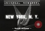 Image of subway train New York City USA, 1939, second 1 stock footage video 65675061137