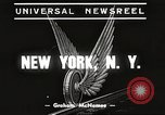 Image of subway train New York City USA, 1939, second 4 stock footage video 65675061137