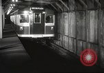 Image of subway train New York City USA, 1939, second 40 stock footage video 65675061137