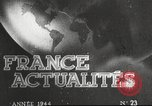Image of damaged French town France, 1946, second 1 stock footage video 65675061138