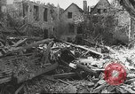 Image of damaged French town France, 1946, second 42 stock footage video 65675061138