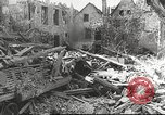 Image of damaged French town France, 1946, second 43 stock footage video 65675061138