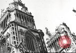 Image of damaged French town France, 1946, second 57 stock footage video 65675061138