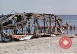 Image of wrecked plane Sicily Italy, 1943, second 19 stock footage video 65675061148