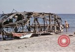 Image of wrecked plane Sicily Italy, 1943, second 20 stock footage video 65675061148