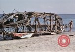 Image of wrecked plane Sicily Italy, 1943, second 21 stock footage video 65675061148