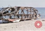 Image of wrecked plane Sicily Italy, 1943, second 22 stock footage video 65675061148