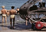 Image of wrecked plane Sicily Italy, 1943, second 25 stock footage video 65675061148