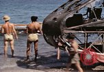 Image of wrecked plane Sicily Italy, 1943, second 26 stock footage video 65675061148