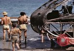 Image of wrecked plane Sicily Italy, 1943, second 27 stock footage video 65675061148