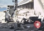 Image of Bomb-damaged seaport Messina Sicily Italy, 1943, second 3 stock footage video 65675061155