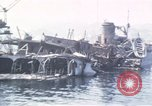 Image of wrecked ships Sicily Italy, 1943, second 5 stock footage video 65675061156