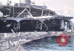 Image of wrecked ships Sicily Italy, 1943, second 11 stock footage video 65675061156