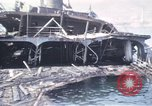 Image of wrecked ships Sicily Italy, 1943, second 12 stock footage video 65675061156