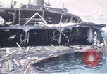 Image of wrecked ships Sicily Italy, 1943, second 13 stock footage video 65675061156