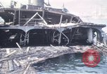 Image of wrecked ships Sicily Italy, 1943, second 14 stock footage video 65675061156
