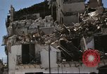Image of damaged buildings Sicily Italy, 1943, second 28 stock footage video 65675061160