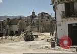 Image of damaged buildings Sicily Italy, 1943, second 29 stock footage video 65675061160