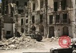 Image of damaged buildings Sicily Italy, 1943, second 30 stock footage video 65675061160