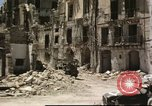 Image of damaged buildings Sicily Italy, 1943, second 33 stock footage video 65675061160