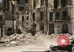 Image of damaged buildings Sicily Italy, 1943, second 34 stock footage video 65675061160