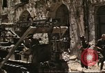 Image of damaged buildings Sicily Italy, 1943, second 38 stock footage video 65675061160