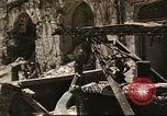 Image of damaged buildings Sicily Italy, 1943, second 42 stock footage video 65675061160