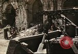 Image of damaged buildings Sicily Italy, 1943, second 43 stock footage video 65675061160