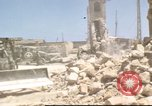 Image of damaged buildings Sicily Italy, 1943, second 49 stock footage video 65675061160