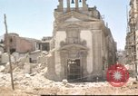 Image of damaged buildings Sicily Italy, 1943, second 51 stock footage video 65675061160