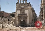 Image of damaged buildings Sicily Italy, 1943, second 52 stock footage video 65675061160