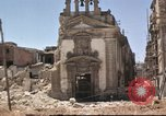 Image of damaged buildings Sicily Italy, 1943, second 53 stock footage video 65675061160