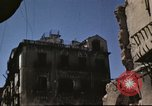 Image of damaged buildings Sicily Italy, 1943, second 54 stock footage video 65675061160