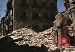 Image of damaged buildings Sicily Italy, 1943, second 58 stock footage video 65675061160
