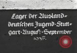 Image of Hitler Youth camp Offenburg Germany, 1937, second 1 stock footage video 65675061201