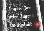 Image of Hitler Youth camp Offenburg Germany, 1937, second 17 stock footage video 65675061201