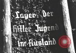Image of Hitler Youth camp Offenburg Germany, 1937, second 18 stock footage video 65675061201