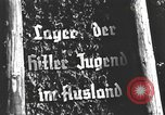 Image of Hitler Youth camp Offenburg Germany, 1937, second 19 stock footage video 65675061201