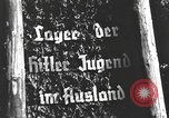 Image of Hitler Youth camp Offenburg Germany, 1937, second 20 stock footage video 65675061201