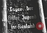 Image of Hitler Youth camp Offenburg Germany, 1937, second 21 stock footage video 65675061201