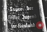 Image of Hitler Youth camp Offenburg Germany, 1937, second 22 stock footage video 65675061201