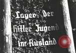 Image of Hitler Youth camp Offenburg Germany, 1937, second 24 stock footage video 65675061201