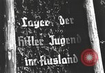 Image of Hitler Youth camp Offenburg Germany, 1937, second 25 stock footage video 65675061201